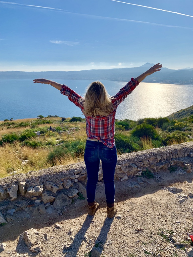 Un día maravilloso de sol en el Cap Sant Antoni, Xàbia... libre